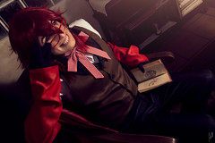 Grell (Juliet Garca Photography) Tags: grell kuroshitsuji anime manga character animation animacion cosplay cosplayer cosplayphotography photography photoshoot photosession