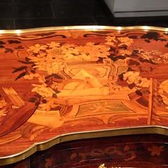 1-10 Dressing Table History (MsSusanB) Tags: metmuseum metropolitan art dressingtable mechanical table marquetry oeben furniture antique