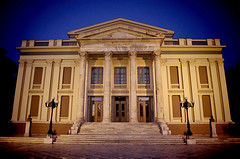 Pireaus Municipal  Theater (n.pantazis) Tags: theater municipal city classic pireas greece neoclassic bluehour culture civilisation