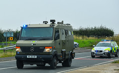 Military Convoy (firepicx) Tags: military mod ministry of defence