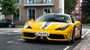 Yellow, white & grey (m.grabovski) Tags: ferrari 458 speciale yellow giallo belgravia london england great britain mgrabovski