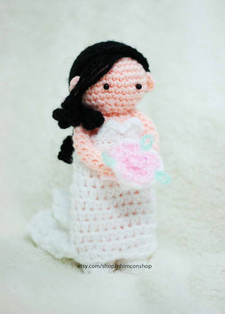 13 Free Crochet Patterns for Bride and Groom Wedding Couple Dolls | 1024x734