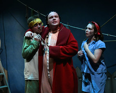 From L-R Jack Brett Chris Draper and Grace Lancaster- Underneath a Magical Moon - Photo by Brian SlaterDSC_5060 (York Theatre Royal) Tags: magicalmoon tuttifrutti