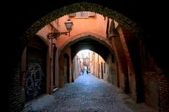 Via delle Volte (annalisabianchetti) Tags: volte ferrara emiliaromagna urban cityscapes city street buildings architecture italy