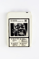 [8 track tape] (RHiNO NEAL) Tags: rhino neal neil rhinoneal 8track cartridge cassette music recording louis armstrong obsolete retro vintage