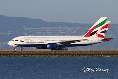 Heavy and Super at SFO (320-ROC) Tags: britishairways speedbird emirates gymmj a6eof boeing777 boeing777200 boeing777200er boeing777236er boeing 777 777200 777200er 777236er b772 airbusa380 airbusa380861 airbusa380800 airbus a380 a380800 a380861 a388 ksfo sfo sanfranciscointernationalairport sanfranciscoairport sanfrancisco