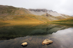 Le lac de Souliers, Queyras, France (Laurent Castiau) Tags: paysagemontagnelacsouliers landscape mountain paysage montagne lac souliers france alpes alps canon canoncamera canonlens canoneos6d canonef1635mmf4lisusm water eau reflection reflet profondeurdechamp depthoffield naturallight lumirenaturelle nature grandangle wideangle