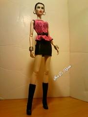 yes girl (krixxxmonroe) Tags: ira d ryan photography krixx monroe styling fashion royalty nu face fr2 opium ayumi black brocade suit by the vogue hong kong