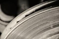 Metal Edge - Explored 10.18.16 (Melissa_JMH) Tags: metal rotor car carparts macro nikon nikond610 d610 brakes macromondays hmm edge mm dof depthoffield ridges explore explored closeup close macrophotography photography
