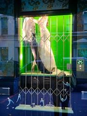 Headless - NYC (verplanck) Tags: bridal chelsea manhattan nyc locked metslgate windowdressing wedding groom bride