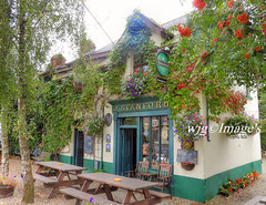 """Village Inn"" Dromahair, Co. Leitrim. (willieguildea) Tags: pub bar building trees dromahair leitrim ireland eire publichousew"