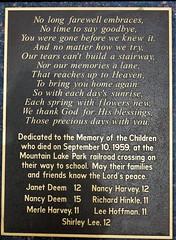 Mountain Lake Park MD ~ tribute poem (karma (Karen)) Tags: oakland maryland mountainlakepark garrettco memorial poem