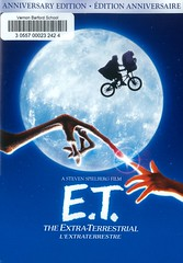 E.T. the Extra-Terrestrial (Vernon Barford School Library) Tags: stevenspielberg steven spielberg melissamathison henrythomas drewbarrymore deewallace robertmacnaughton petercoyote alien aliens extraterrestrials drama humanalienencounters boys children extraterrestrialbeings et stranded 1980s friendship friends spacetravel encounter quarentine alienvisitation empathy sciencefiction vernon barford library libraries new recent video videos film films junior high middle school covers cover videocase videocases dvd dvds dvdcase dvdcases fiction fictional movie movies comedy comedies animated animations animation motionpicture motionpictures