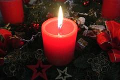 Advent 2016 (ivlys) Tags: 1advent adventskranz adventwreath kerze candle tannengrün firtreegreen dekoration decoration ivlys