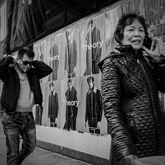 theory (ifotog, Queen of Manhattan Street Photography) Tags: newyorkcity bw chinatown leannestaples ifotog nyc