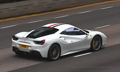 Ferrari, 488 GTB, Wan Chai, Hong Kong (Daryl Chapman Photography) Tags: hide h1de ferrari 488 pan panning wanchai italian car cars auto autos automobile canon eos is ii 70200l f28 road engine power nice wheels rims hongkong china sar drive drivers driving fast grip photoshop cs6 windows darylchapman automotive photography hk hkg bhp horsepower brakes gas fuel petrol topgear headlights worldcars daryl chapman darylchapmanphotography 1d mkiv