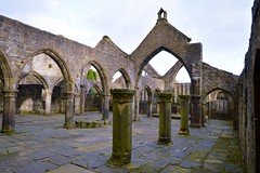 Aisles and Chancels (rustyruth1959) Tags: nikon nikond3200 tamron16300mm yorkshire heptonstall architecture building structure church outdoor aisle chancel arch column window ruins churchofstthomasabecket stthomasabecket worship medieval pavement sky