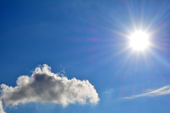 Il Sole e la Nuvola (lory6093) Tags: sole luna cielo poesia rodari