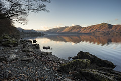 Quiet time (Peter Henry Photography) Tags: water lake lakedistrict cumbria morning calm quiet sunlight colour reflections