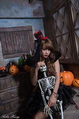 DSC_7380 (Robin Huang 35) Tags: 孫卉彤 candy miruna萬聖風 小惡魔 吸血鬼 vampire 萬聖節 halloween 棚拍 lady girl d810 nikon devil