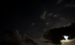 nuit, 18 oct 16 (photofank) Tags: 1pad clouds mist moon night onepicaday photofank longexposure blurry
