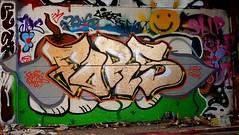 Oldenburg - (street: Melkbrink) 81st picture / Graffiti, street art (tusuwe.groeber) Tags: projekt project lovelycity graffiti germany deutschland lowersaxony oldenburg city streetart niedersachsen farbig farben favorit colourful colour sony sonyphotographing nex7 bunt red rot art gebäude building gelb grün green yellow konzept concept wall wand halloffame wandgestaltung lager lagerhalle hall halle melkbrink