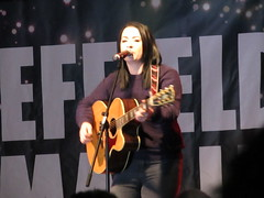 Lucy Spraggan, Sheffield Christmas Lights Switch On 2015 (Dave_Johnson) Tags: lucyspraggan xfactor singer soloartist live music gig concert livemusic christmas christmaslights peacegardens sheffield southyorkshire