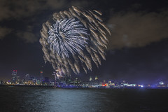Fireworks 3384 (Chris Galvin Photography) Tags: liverpool fireworks rivermersey pierhead threegraces