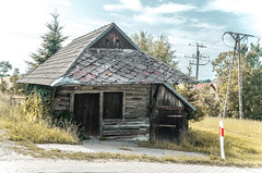 old cottage somewhere in Poland (bialobrody) Tags: cottage castlespalacesmanorhousesstatelyhomescottages yourbestoftoday