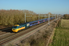 43002. Denchworth. 04-12-2016 (*Steve King*) Tags: 43002 class 43 intercity 125 livery denchworth great western passenger train