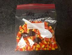 Help Yourself Bag og Candy Corn and Chocolate Food (stevendepolo) Tags: help yourself bag og candy corn chocolate food