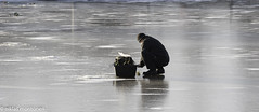 Sunday Walk (aixcracker) Tags: december joulukuu winter vinter river talvi  joki is ice j porvoo borg suomi finland nikond3