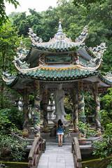At peace (Xnalanx) Tags: asia buildings danang environment land manmade mountains pagoda places plants temple thuysonmarblemountain trees vietnam