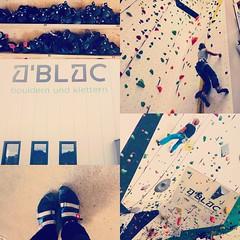 (emilyalp) Tags: climbing gym friends fun sport rock challenge sweat heights fearless strong