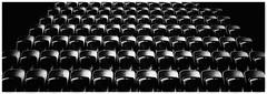 Empty (RissaJT_23) Tags: abstract pentaxk50 pentax sigma1020mm lakesidestadium albertpark melbourne victoria australia victorianinstituteofsport grandstand seating publicseating seats blackwhite shadows lightdark