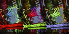 RGB Timbers Triptych V (Notley) Tags: rural missouri notley notleyhawkins 10thavenue httpwwwnotleyhawkinscom missouriphotography notleyhawkinsphotography lightpainting bluelight greenlight blue green night nocturne   lichtmalerei pinturadeluz     abandoned sky longexposure november ruralphotography salinecountymissouri fall 2016 barn farm timbers triptych trio triad
