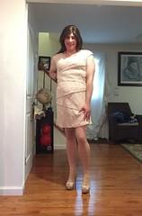 dazed (JenniferB!) Tags: c crossdress crossdresser crossdressed crossdressing makeup pantyhose ladylike enfemme femme heels lipstick girly girlish ii girlygirl ootd gurl transgender tgurl tgirl