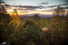 Pigeon Forge - The Smoky Mountains (BenSMontgomery) Tags: pigeon forge the smoky mountains sunset tennessee fall foliage