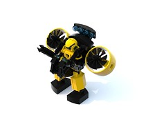 Aqua Exploration Mech (DraikNova) Tags: mecha mech lego ldd legodigitaldesigner contest contestentry entry render