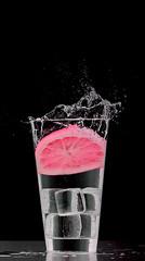 The opposite (PLADIR) Tags: zitrone lemon splash schwarzerhintergrund black blackbackround highspeed glas glass sony sonya57 slta57
