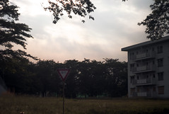 L1010553c (haru__q) Tags: leica m8 leitz summicron sky cloud   dormitory