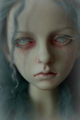 the blue (dolls of milena) Tags: bjd abjd resin doll soi dollstown ordoll