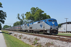 Amtrak 71 Battleboro N.C (Gridboy56) Tags: america amtrak usa northcarolina nc silverstar amtrak9 amtrak71 train92 battleboro miami newyork railways railroad trains train locomotive locomotives diesel generalelectric ge