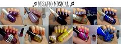 Desafio Musical! (Raíssa S. (:) Tags: esmalte nails unhas manicure nailpolish naillacquer nailart corujas desafiomusical
