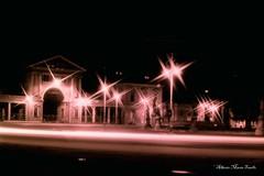 Ex Foro Boario In Padua By Night (Alberto Maria Tosello) Tags: city white black night lights luci monuments notte citt albertomariatosello