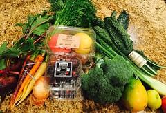 Organic Yumminess (Vegan Feast Catering) Tags: fruit organic veggies csa