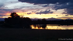 September 2, 2015 - A gorgeous sunset in Broomfield. (David Canfield)