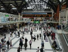 Liverpool Street Station (Judy **) Tags: greatbritain england holiday london station vakantie engeland londen 2015 grootbrittannië