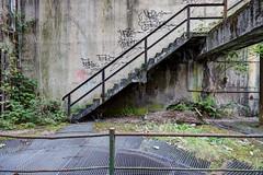 Stairs... (aphonopelma1313 (suicidal views)) Tags: urban abandoned dark lost ruins place decay exploring side ruine massive architektur rotten exploration gebude ort urbex verfall zerfall marode verlassener aphonopelma1313