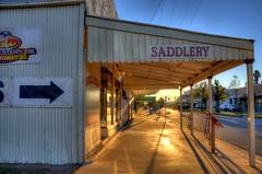 Blackall Saddlery (seefit) Tags: building outback streetscape hdr saddlery